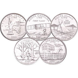 Statehood Quarters 2001