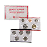 2002 Uncirculated Coin Set (20 Coins) - Centerville C&J Connection, Inc.