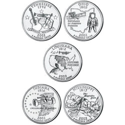 2002 Statehood Quarters - Centerville C&J Connection, Inc.