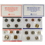 2003 Uncirculated Coin Set (20 Coins) - Centerville C&J Connection, Inc.