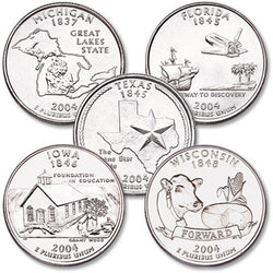 2004 Statehood Quarters - Centerville C&J Connection, Inc.