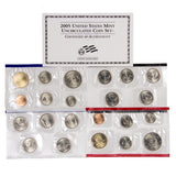 2005 Uncirculated Coin Set (22 Coins) - Centerville C&J Connection, Inc.