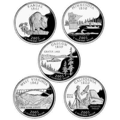 2005 Statehood Quarters - Centerville C&J Connection, Inc.