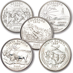 2006 Statehood Quarters - Centerville C&J Connection, Inc.