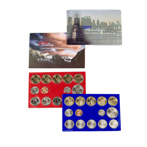 2007 Uncirculated Coin Set (28 Coins) - Centerville C&J Connection, Inc.