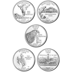 Statehood Quarters 2007