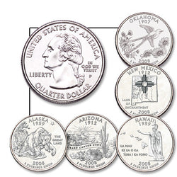 Statehood Quarters 2008
