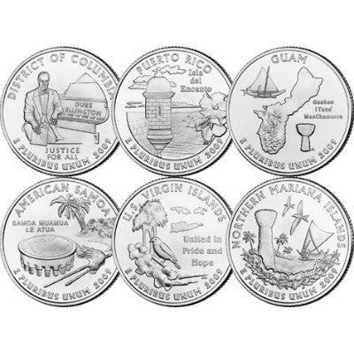 D.C. and U.S. Territories Quarters 2009