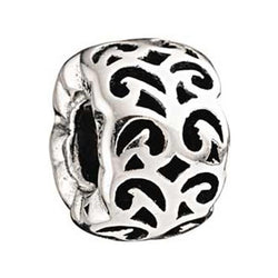 Swirling Dreams Filigree Silver Bead - Chamilia - Centerville C&J Connection, Inc.
