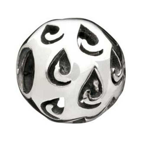 Morning Dew Silver Bead - Chamilia - Centerville C&J Connection, Inc.