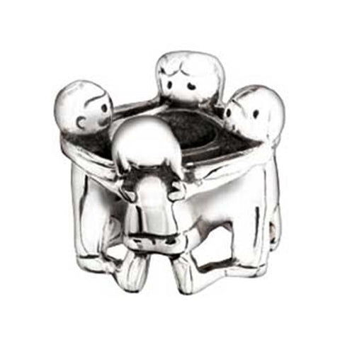 Silver Gather Round Bead - Chamilia - Centerville C&J Connection, Inc.