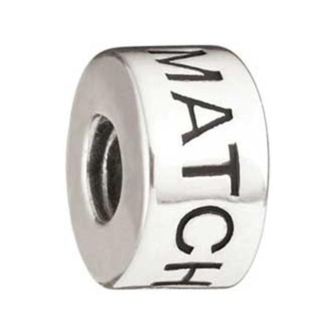 """Be the Match"" Silver Bead - Centerville C&J Connection, Inc."