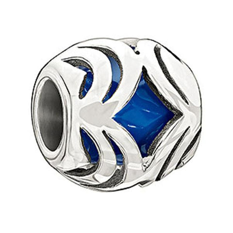 Oasis - Blue Enamel - Chamilia Bead - Centerville C&J Connection, Inc.