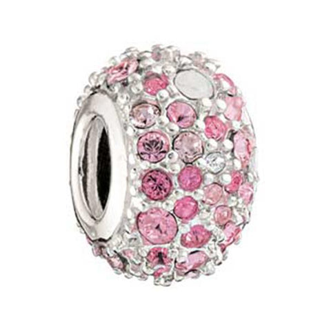 Pink Swarovski Crystal Kaleidoscope Bead - Chamilia - Centerville C&J Connection, Inc.