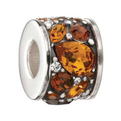 Mosaic Umber Swarovski Crystal Bead - Chamilia - Centerville C&J Connection, Inc.
