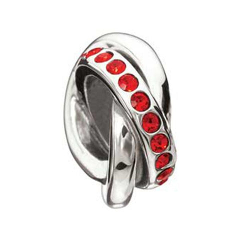 Regale Silver & Crystal Chianti  - Chamilia Bead - Centerville C&J Connection, Inc.