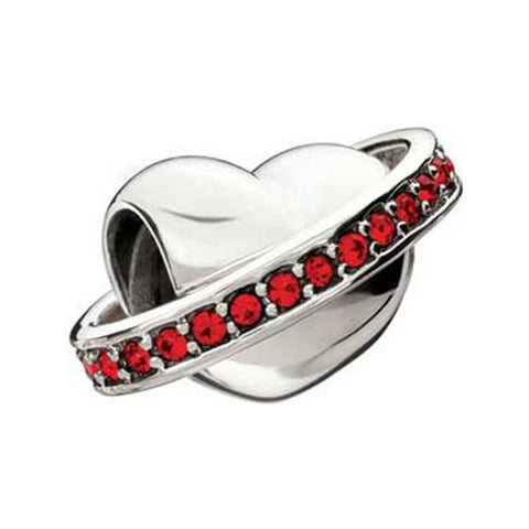 Dolce Vita Silver & Chianti Crystal Bead - Chamilia - Centerville C&J Connection, Inc.