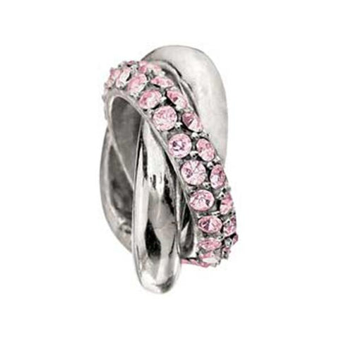 Light Rose Swarovski Crystal Rings - Chamilia - Centerville C&J Connection, Inc.