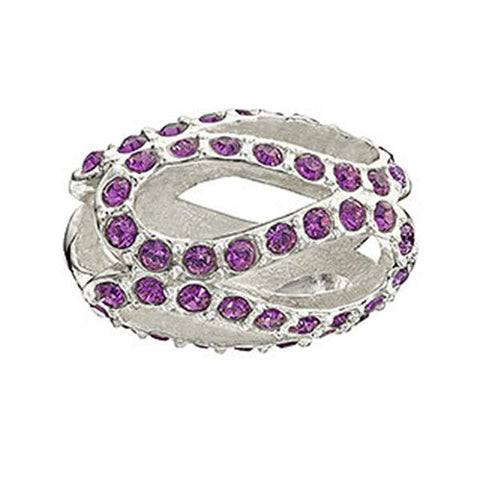 Glistening Meander - Purple - Chamilia - Centerville C&J Connection, Inc.
