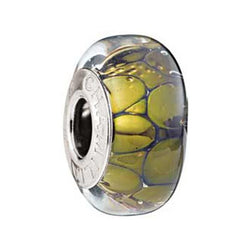 24K Gold Collection Twilight Murano Glass Bead - Centerville C&J Connection, Inc.