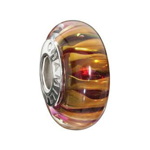 24K Gold Collection Safari Murano Glass Bead - Chamilia - Centerville C&J Connection, Inc.