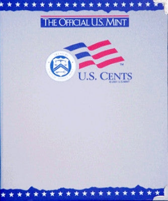 Cents, Plain, Official U.S. Mint Coin Album - Centerville C&J Connection, Inc.