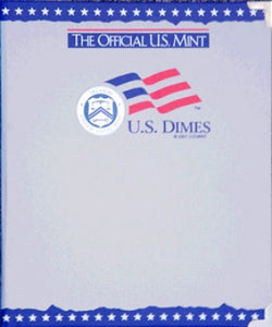 Dimes, Plain, Official U.S. Mint Coin Album - Centerville C&J Connection, Inc.