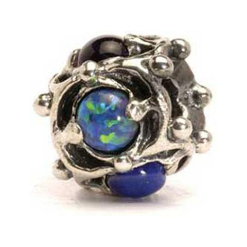 Wisdom - Trollbeads Silver & Stone Bead - Centerville C&J Connection, Inc.