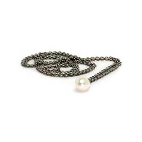 Necklace Silver Fantasy/Pearl 39.4 Inch - Trollbeads - Centerville C&J Connection, Inc.