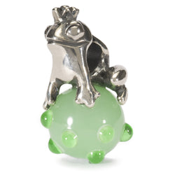 World Tour Frog Prince - Trollbeads Glass and Silver Bead - Centerville C&J Connection, Inc.
