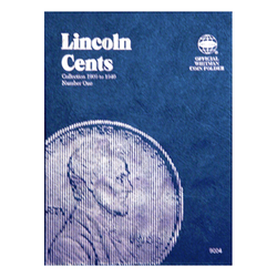 Lincoln Cent No. 1, 1909-1940 Whitman Coin Folder - Centerville C&J Connection, Inc.