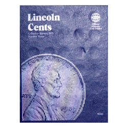 Lincoln Cent No. 3, 1975-2013 Whitman Coin Folder - Centerville C&J Connection, Inc.