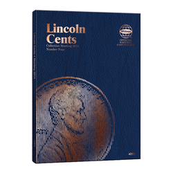 Lincoln Cent No. 4, 2014 Whitman Coin Folder - Centerville C&J Connection, Inc.