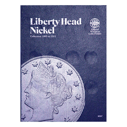 Liberty Head Nickel, 1883-1912 Whitman Coin Folder - Centerville C&J Connection, Inc.