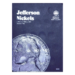 Jefferson Nickel No. 1, 1938-1961 Whitman Coin Folder - Centerville C&J Connection, Inc.