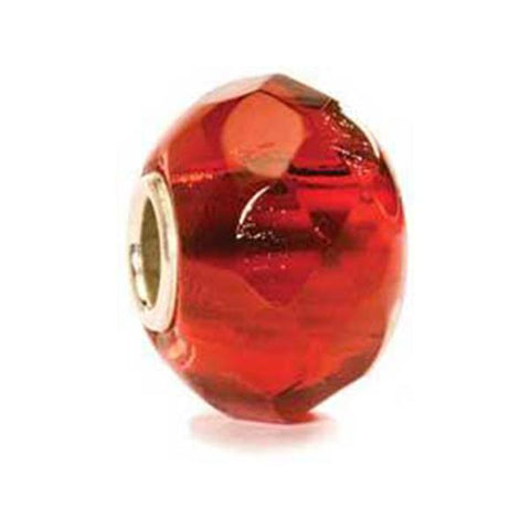 Bright Red Prism - Trollbeads Glass Bead - Centerville C&J Connection, Inc.