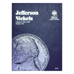 Jefferson Nickel No. 2, 1962-1995 Whitman Coin Folder - Centerville C&J Connection, Inc.