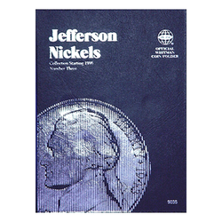 Jefferson Nickel No. 3, 1996-2015 Whitman Coin Folder - Centerville C&J Connection, Inc.