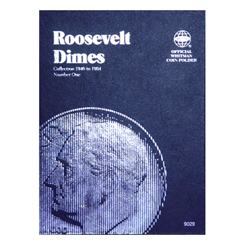 Roosevelt Dime No. 1, 1946-1964 Whitman Coin Folder - Centerville C&J Connection, Inc.