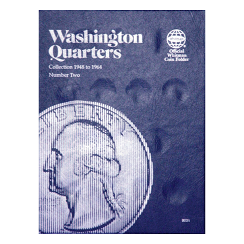 Washington Quarter No. 2, 1948-1964 Whitman Coin Folder - Centerville C&J Connection, Inc.