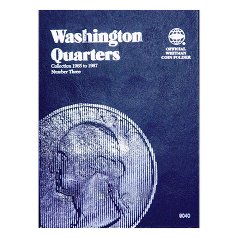 Washington Quarter No. 3, 1965-1987 Whitman Coin Folder - Centerville C&J Connection, Inc.