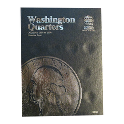 Washington Quarter No. 4, 1988-1998 Whitman Coin Folder - Centerville C&J Connection, Inc.