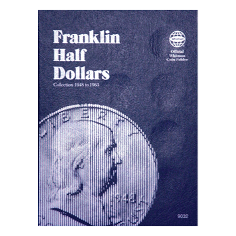 Franklin Half Dollar, 1948-1963 Whitman Coin Folder - Centerville C&J Connection, Inc.