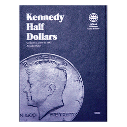 Kennedy Half Dollar No. 1, 1964-1985 Whitman Coin Folder - Centerville C&J Connection, Inc.