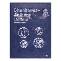Eisenhower/Anthony Dollar Whitman Coin Folder - Centerville C&J Connection, Inc.