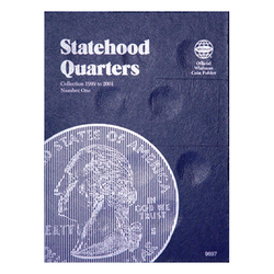 Statehood Folder No. 1 1999-2001 Whitman Coin Folder - Centerville C&J Connection, Inc.