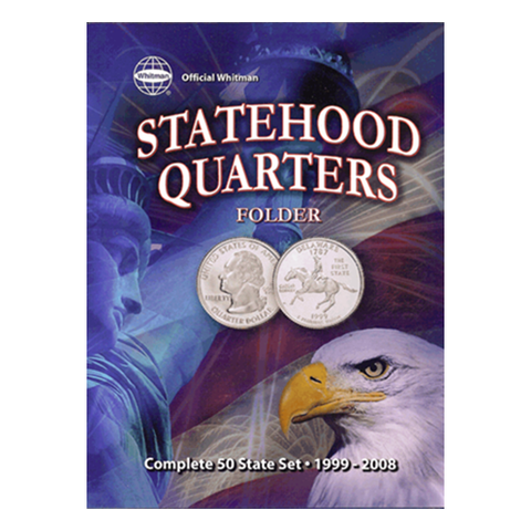 Official Whitman Statehood Quarter Folder with DC & Territories Whitman Coin Folder - Centerville C&J Connection, Inc.