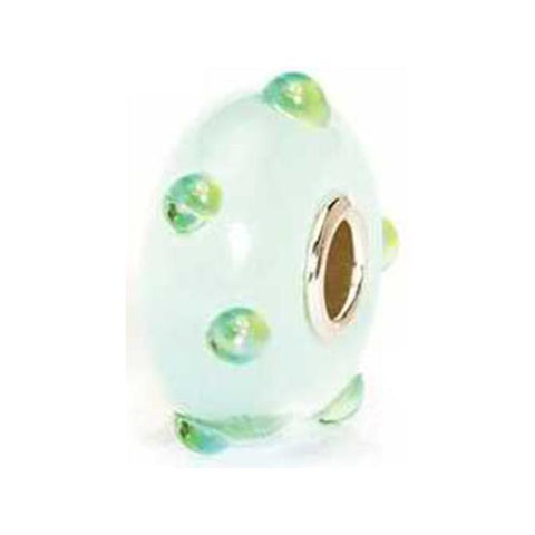 Ice Blue Bud - Trollbeads Glass Bead - Centerville C&J Connection, Inc.