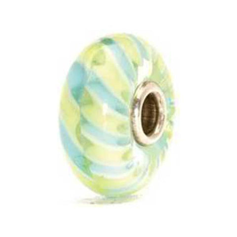 Light Blue Braid - Trollbeads Glass Bead - Centerville C&J Connection, Inc.