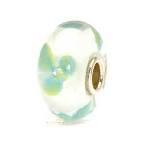 Ice Blue Flower - Trollbeads Glass Bead - Centerville C&J Connection, Inc.